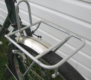 Bike front rack like porter rack