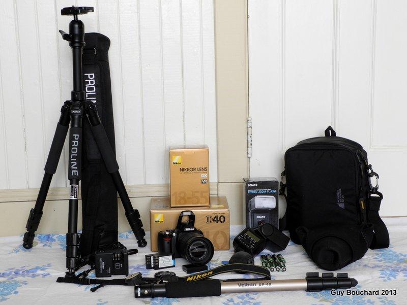 Nikon D40 kit à vendred