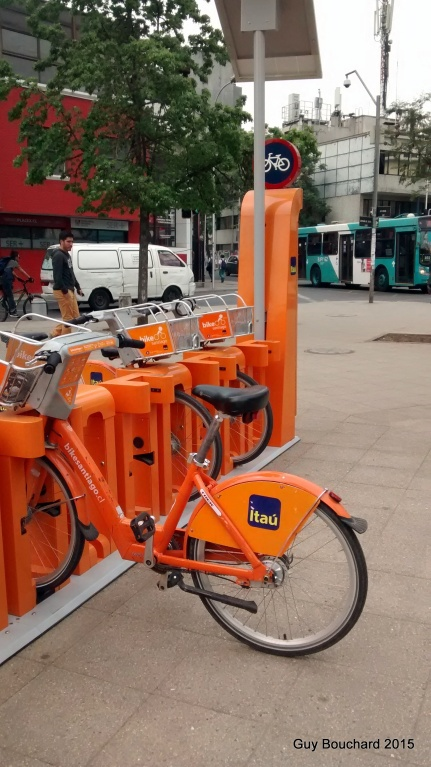 Système de location de vélo