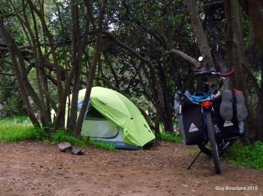 Camping au parc La Campana