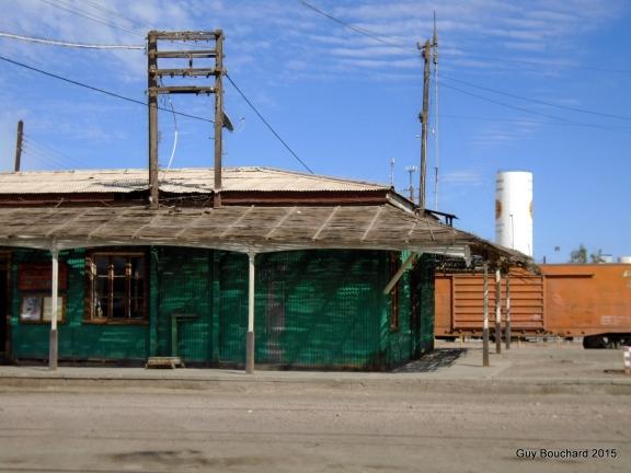 La gare de Baquedano