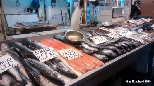 Le marché de poisson