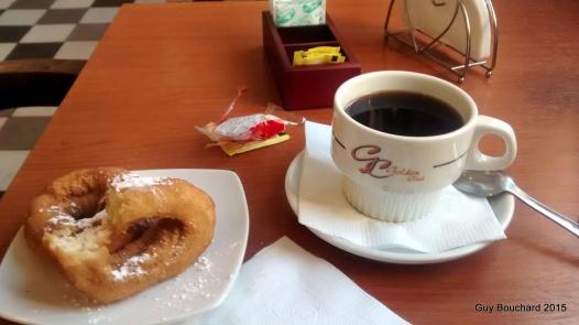Un vrai café à Coquimbo