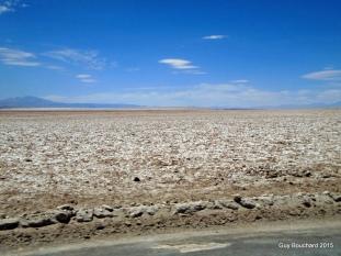 Dans le désert de sel d'Atacama