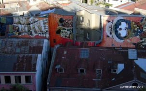 Murale d'un artiste réputé mondialement