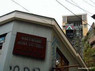 Les ascenseurs de Val Paraiso sont mondialement reconnus