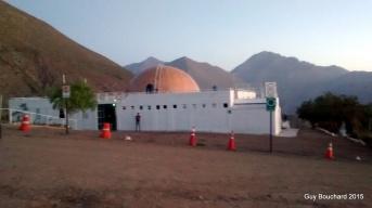 Un petit observatoir du ciel le plus clair de la planète dans la Vallée de l'Elqui