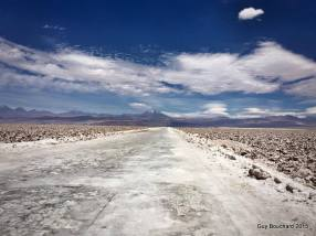 La route de sel d'Atacama (photo de Jennifer Chen)