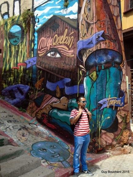 L'art de rue est très présent (Ignacio notre guide de Tour 4 tips)