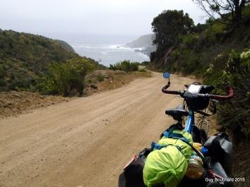 Je roule vers une belle surprise à Puerto Oscuro