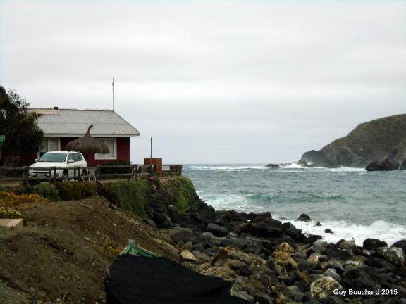 J'ai été chaleureusement accueilli chez les Heinsen en bord de mer à Puerto Oscuro