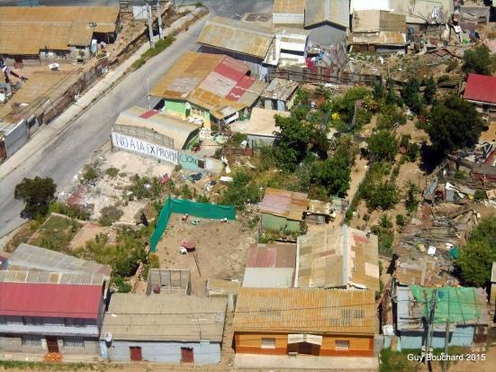 Vu de la croix du 3e millénaire bâtie à Coquimbo au tournant de l'an 2000