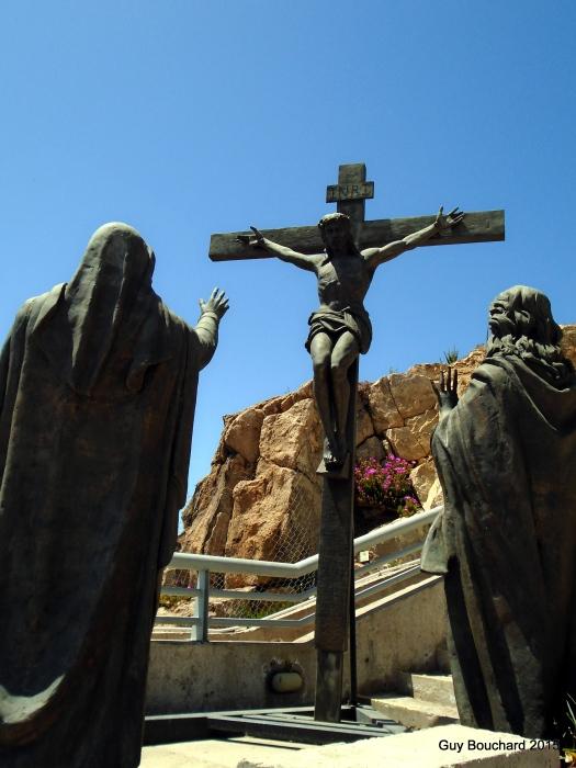 Près de la croix du 3e millénaire bâtie à Coquimbo au tournant de l'an 2000